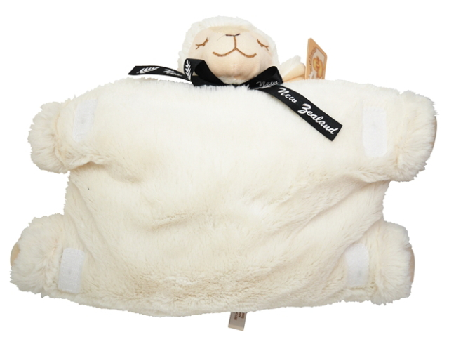 SOFT TOY PILLOW FOLD SHEEPLING SHEEP