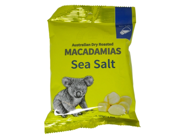 SUNCOAST GOLD MACADAMIA NUTS - SEA SALT