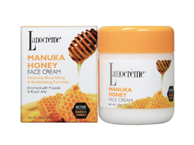 Lanocrème Manuka Honey Face Cream 100g