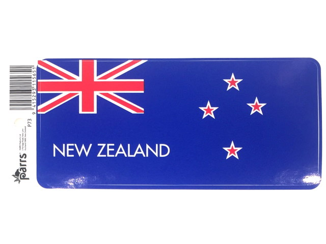STICKER VINYL NZ FLAG