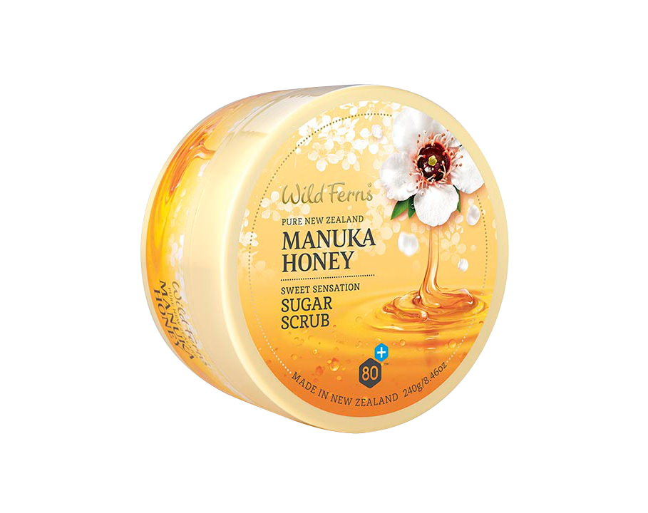 Manuka Honey Sweet Sensation Sugar Scrub (240g)