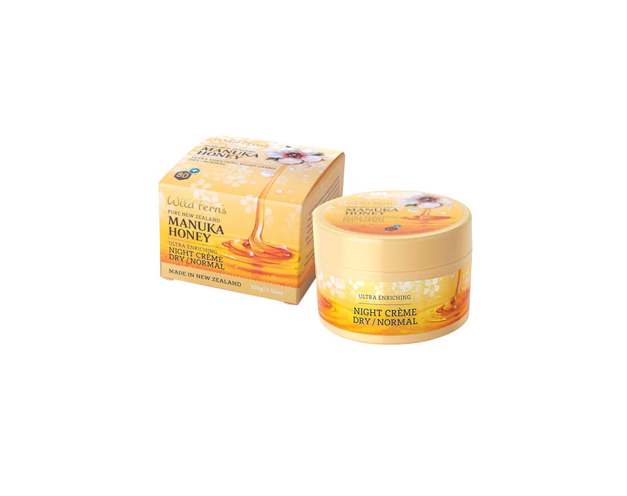 Manuka Honey Ultra Enriching Night Creme - Dry to Normal (100g)