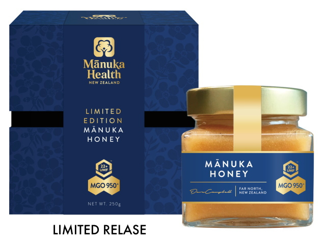 MGO950+ Manuka Honey (250g) - Limited Release