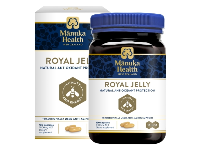 Royal Jelly Capsules (1000mg×180caps)