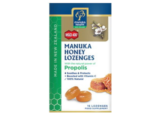 MGO 400+ Manuka Honey & Propolis Lozenges