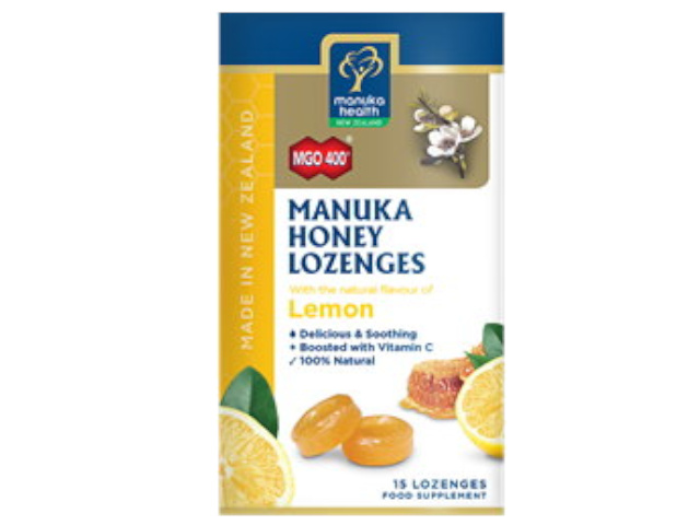 MGO 400+ Manuka Honey & Lemon Lozenges