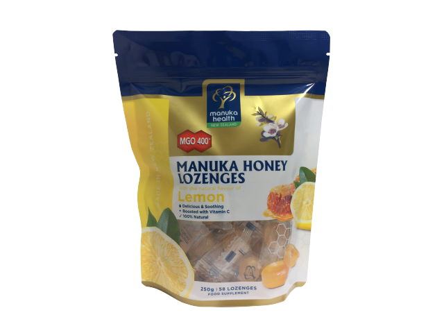 Manuka Honey & Lemon Lozenges Pouch
