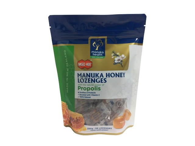 Manuka Honey & Propolis Lozenges Pouch