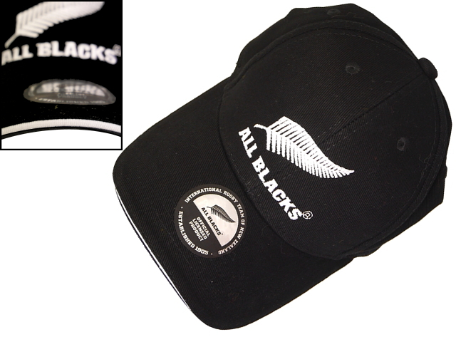 All Blacks CAP PIPING BLACK