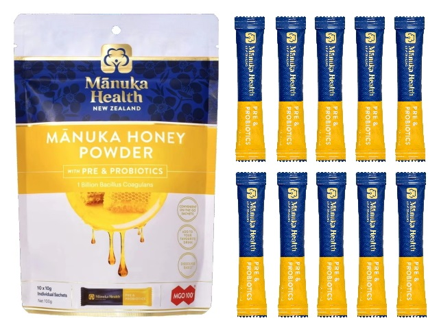 MANUKA HONEY POWDER PRE & PROBIOTICS