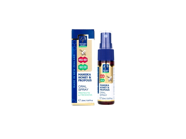 Manuka Honey & Propolis Oral Spray (20ml)