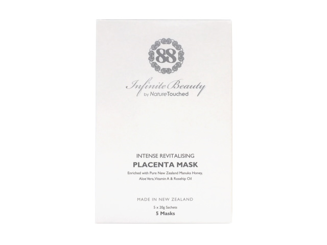 Infinite Beauty Intense Revitalizing Placenta Mask (5 x 20g)
