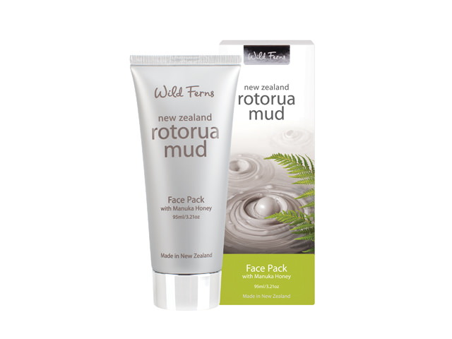 Rotorua Mud Face Pack with Manuka Honey (95ml)