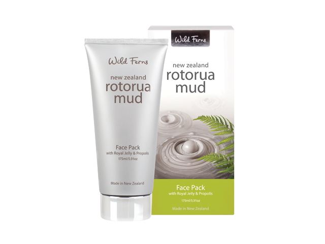 Rotorua Mud Face Pack with Royal Jelly & Propolis (175ml)