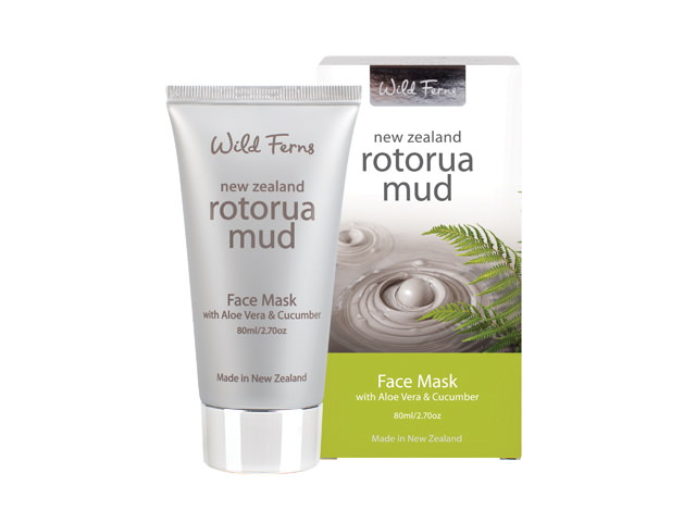 Rotorua Mud Face Mask with Aloe Vera & Cucumber 80ml