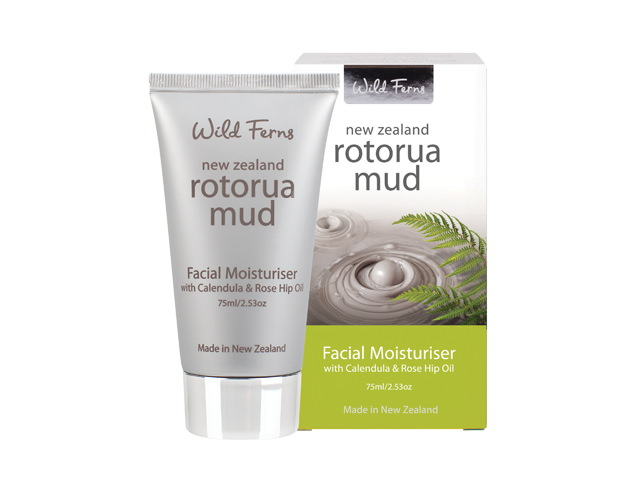 Rotorua Mud Facial Moisturiser with Calendula&Rose Hip Oil 75ml