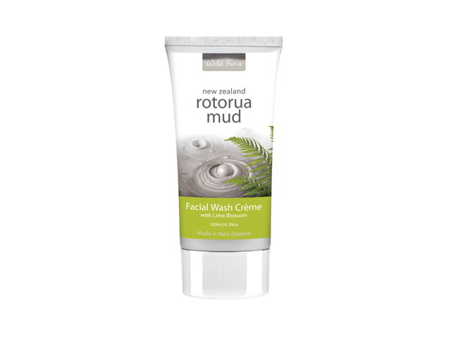 Rotorua Mud Facial Wash Creme with Lime Blossom (130ml)