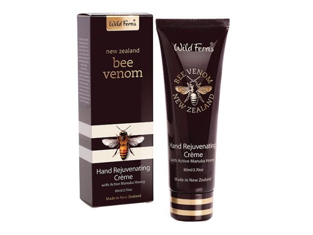 Bee Venom Hand Rejuvenating Creme with Active Manuka Honey 80ml