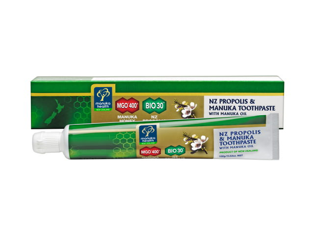 Propolis & Manuka Honey Toothpaste with Manuka Oil (100g)