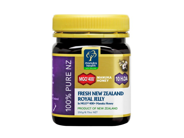 Fresh Royal Jelly in MGO™ 400+ Manuka Honey (250g)
