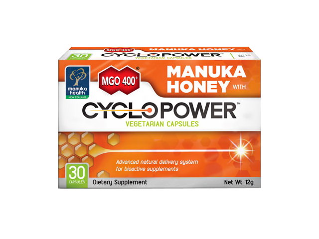MGO™ 400+ Manuka Honey with CycloPower™ (30 Capsules)